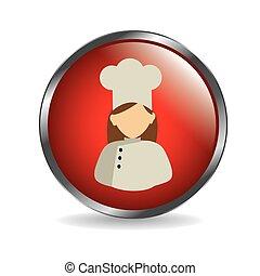 Chef design,vector illustration.