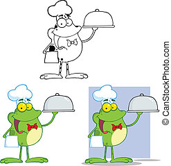 Chef Frog Character Collection