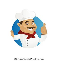 Chef giving thumb up