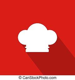Chef Hat Flat Icon