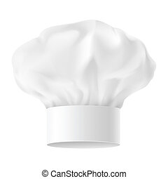Chef hat - White Chef Hat. Second variant. Illustration on...