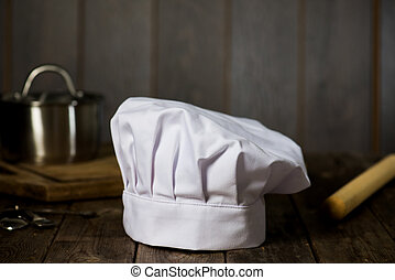 chef hat with backgrounds