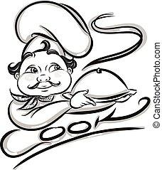 chef, illustrazione