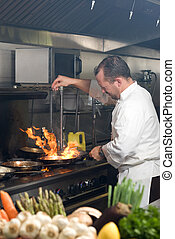 chef, lavorativo