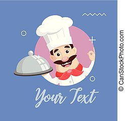 Chef Logo Mascot Vector Illustration