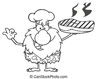 Chef Male Caveman