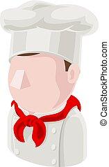 Chef Man Avatar People Icon