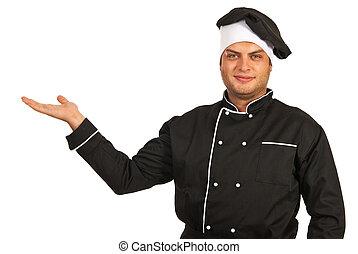 Chef man presentation