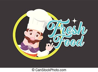 Chef Mascot Vector Illustration