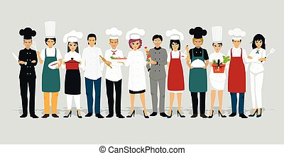 Chef men and women