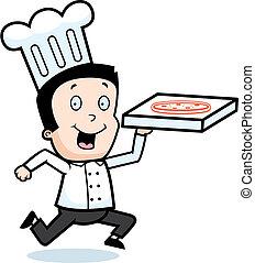 chef, pizza