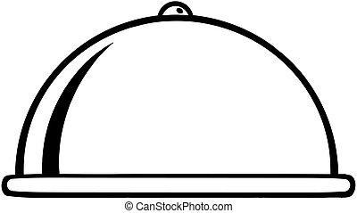 Chef Platter Cartoon Character