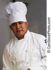 chef, primo piano