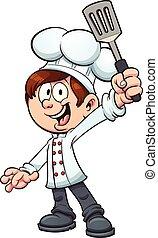 chef, ragazzo