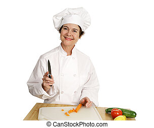 Chef Series - Smiling