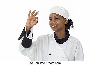 chef, signo bueno