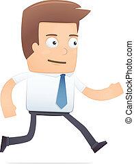 chef, suitable, för, använda, in, dialogs, med, annat, characters.