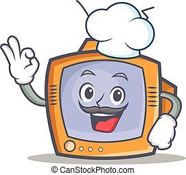 Chef TV character cartoon object