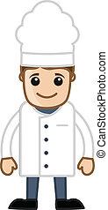 Chef,  vector, caricatura