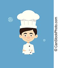 Chef Vector Illustration Design -  mascot