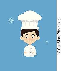 Chef Vector Illustration Design -  mascot
