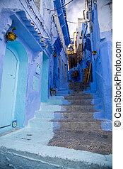 chefchaouen, 镇, 在中, 摩洛哥
