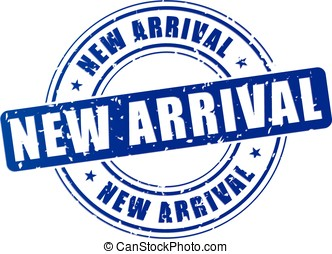 chegada, novo, estampe ícone