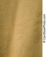 cheio, tecido, suede-like, quadro, biege, fundo, bronzeado, ou