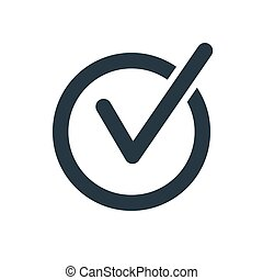 chek mark rounded - rounded check mark icon