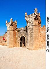Chellah in Rabat - Chellah or Sala Colonia is a medieval...