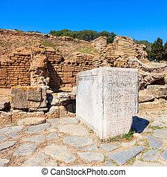 Chellah in Rabat - Rabat Chellah ruins. Chellah is a...