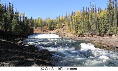 Chelsatta Falls British Columbia Canada