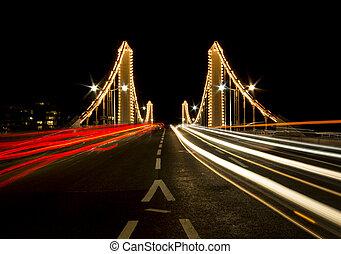 Chelsea Bridge in London - Chelse Bridge in London with a ...