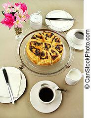Chelsea Bun And Coffee