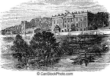 Cheltenham College, in Gloucestershire, United Kingdom,...