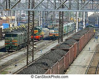 chelyabinsk, estação de comboios
