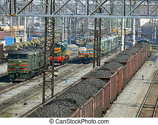chelyabinsk, spoorwegstation