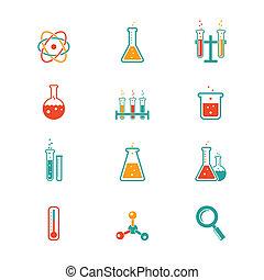 chemia, ikony