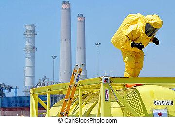 Chemical and Biological War - ASHDOD - JUNE 22: The Israeli ...