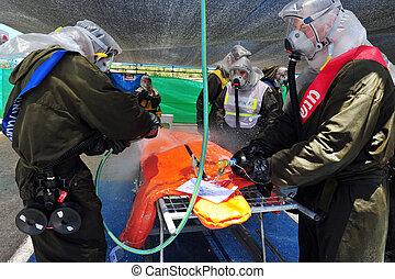 Chemical and Biological War - ASHKELON - JUNE 23: The ...