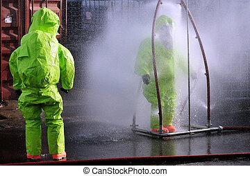 Chemical and Biological War - KIRYAT MALAKI - DECEMBER 2: ...
