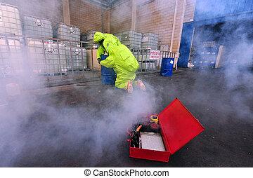 Chemical and Biological War - KIRYAT MALAKI - DECEMBER 2:...
