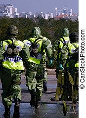 Chemical and Biological Warfare - ASHKELON, ISR - JAN 22:...