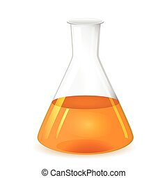 Chemical conical flask - Erlenmeyer flask