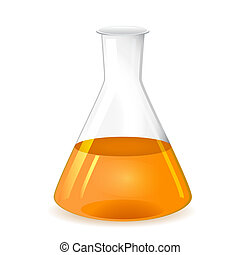 Chemical conical flask