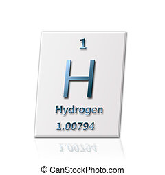 Chemical element Hydrogen - There is a chemical element...