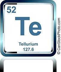 Chemical element osmium from the periodic table symbol of eps chemical element tellurium from the periodic table urtaz Choice Image