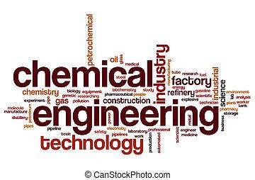 Chemical engineering word cloud