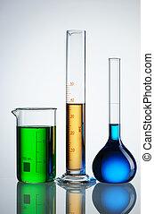 Chemical flasks