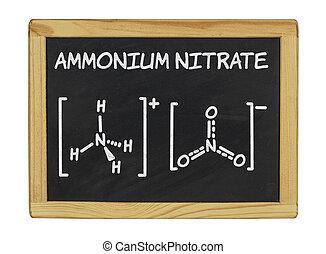 chemical formula of ammonium nitrate